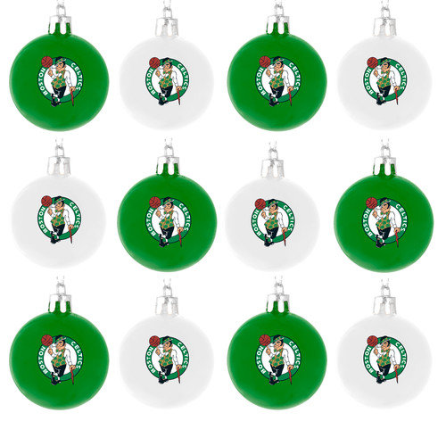 Forever Collectibles NBA Ball Ornament (Set of 12)