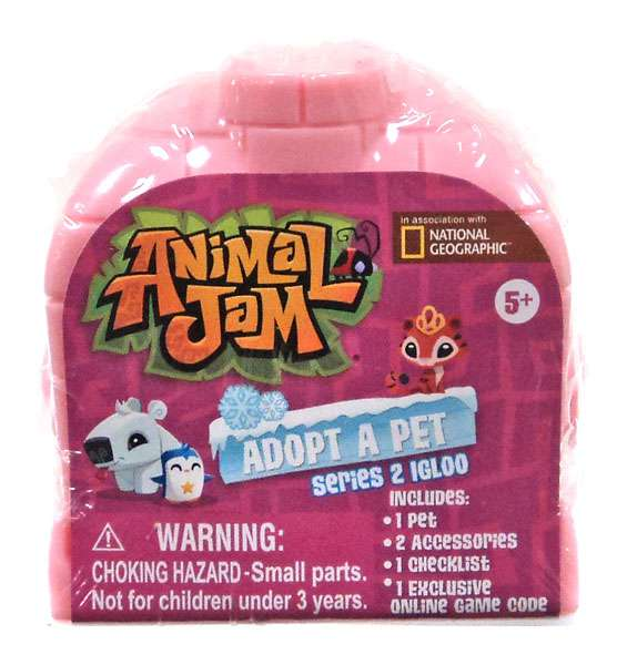 Animal Jam Adopt A Pet Series 2 Igloo Mystery Pack [Random - Halloween Song Animal Jam