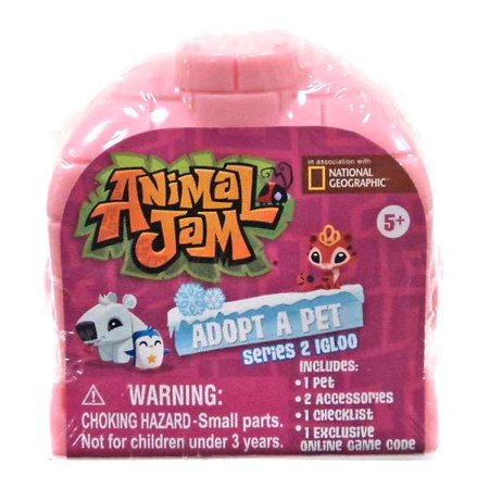 Animal Jam Halloween Song (Animal Jam Adopt A Pet Series 2 Igloo Mystery Pack [Random)