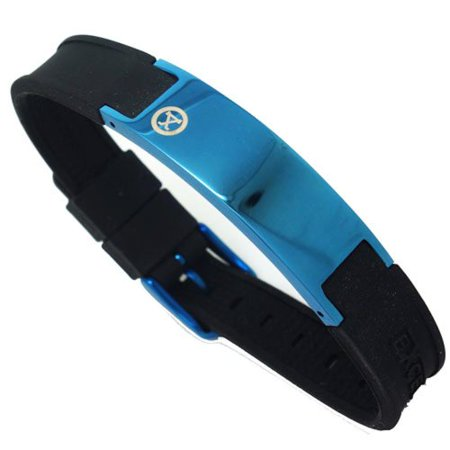 Magnetic Energy Sports Bracelet Blue with Gift - Magnetic Sports Bracelet