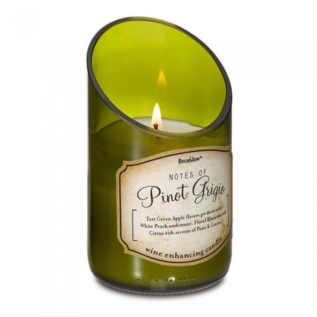 WINE BOTTLE PINOT GRIGIO SCENTED CANDLE - Beer Bottle Candles