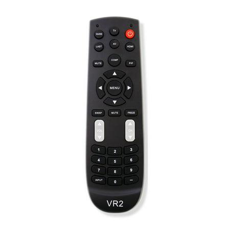 New VR2 Replace Remote fit for Vizio TV VECO320L VECO320L1A VL260M VL320M VL370M VO320E VO370M VO420E (Vizio Remote Replacement Vo320e)