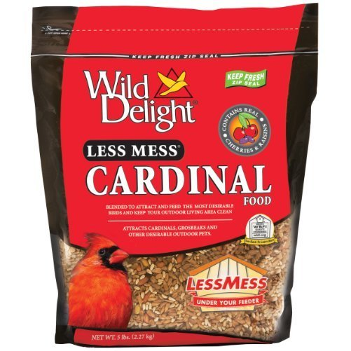 Wild Delight 390105 Less Mess Cardinal Food, 5 Pounds (Discontinued by Manufacturer)