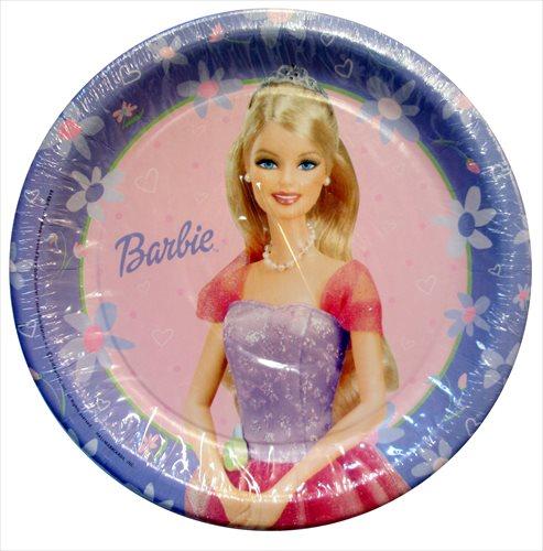 Barbie u0027Celebrationu0027 Large Paper Plates ...  sc 1 st  Walmart & Barbie u0027Celebrationu0027 Large Paper Plates (8ct) - Walmart.com