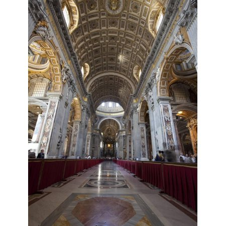 Party City Site (St. Peter's Basilica, Vatican City, UNESCO World Heritage Site, Rome, Lazio, Italy, Europe Print Wall Art By Carlo)