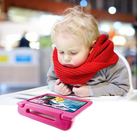 TORUBIA Shock Proof Case Fit iPad Pro 11 Inch 2020 Tablet, [Kids Friendly] Kiddie Series EVA Convertible Handle Light Weight Protective Cover Pen Holder - Magenta - image 3 of 7