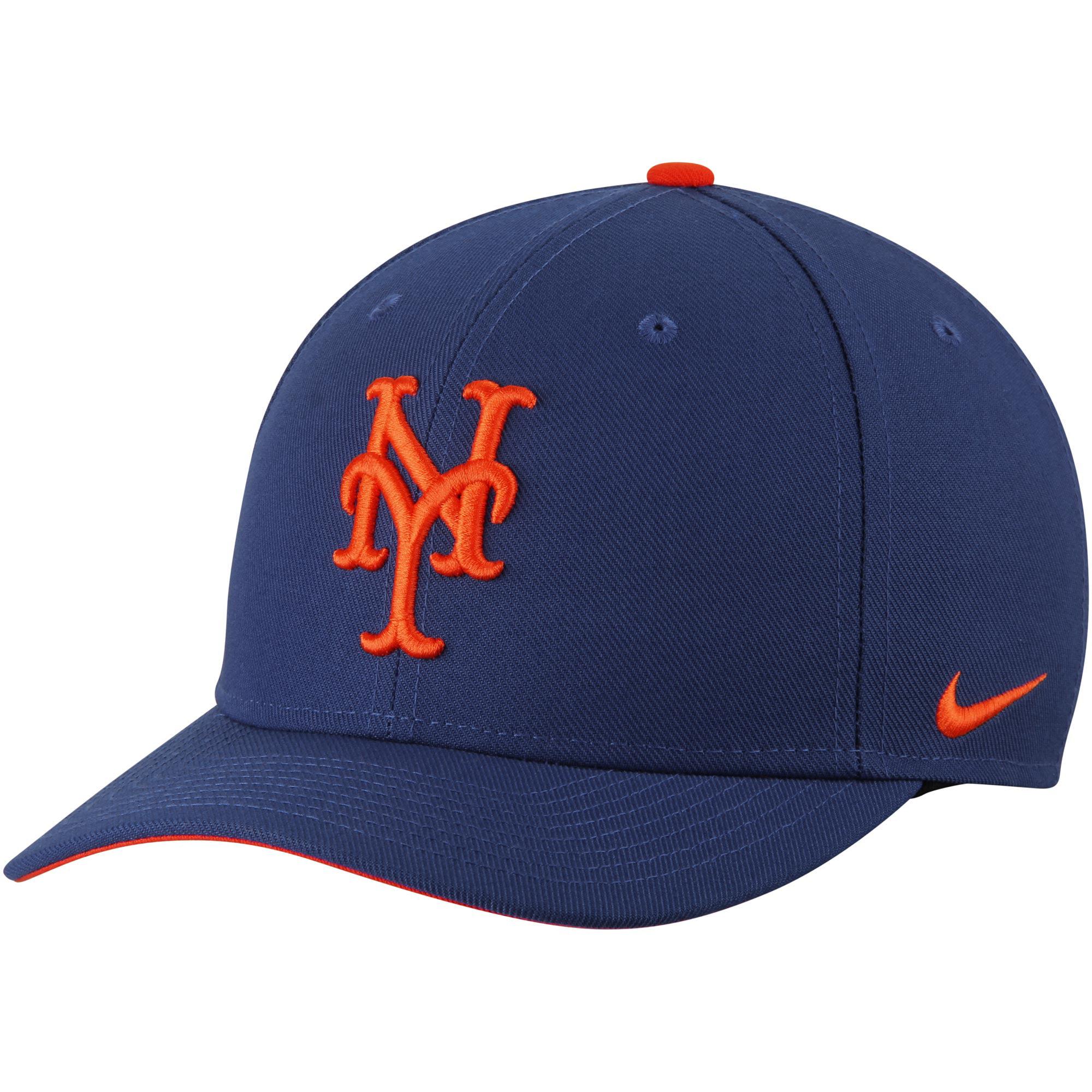 New York Mets Nike Classic Adjustable Performance Hat - Royal - - OSFA