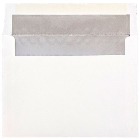 jam paper a7 foil lined invitation envelopes 133 35 x 184 15 mm