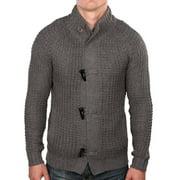 True Rock Men's Toggle Cardigan Knit Sweater