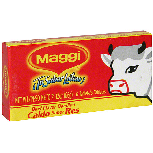 Maggi Beef Flavored Bouillon Cubes, 6ct (Pack of 24)