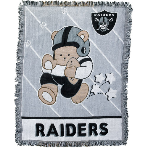 NFL Oakland Raiders Baby Tapestry Throw