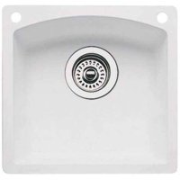 Blanco 441477-2 Diamond Bar Sink 2-Hole, Silgranit II, Available in Various Colors
