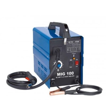 GHP 90-Amp 6AWG Single Insulation Dual Flux Core Wire Feed MIG Welding