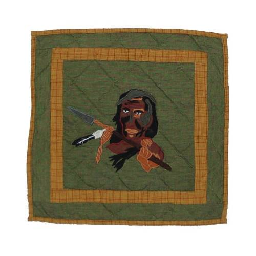 Patch Magic TPINDC-IN Indian Dancers-Indian, Toss Pillow 16 x 16 inch