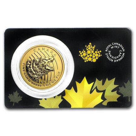 2016 Canada 1 oz Gold Roaring Grizzly Bear .99999 BU