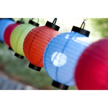 Peel-n-Stick Poster of Celebration Oriental Festival Lanterns Culture Poster 24x16 Adhesive Sticker Poster Print - Oriental Lanterns