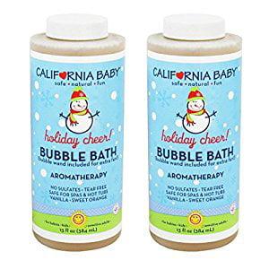 California Baby Bubble Bath ''Holiday'' Vanilla Orange an...