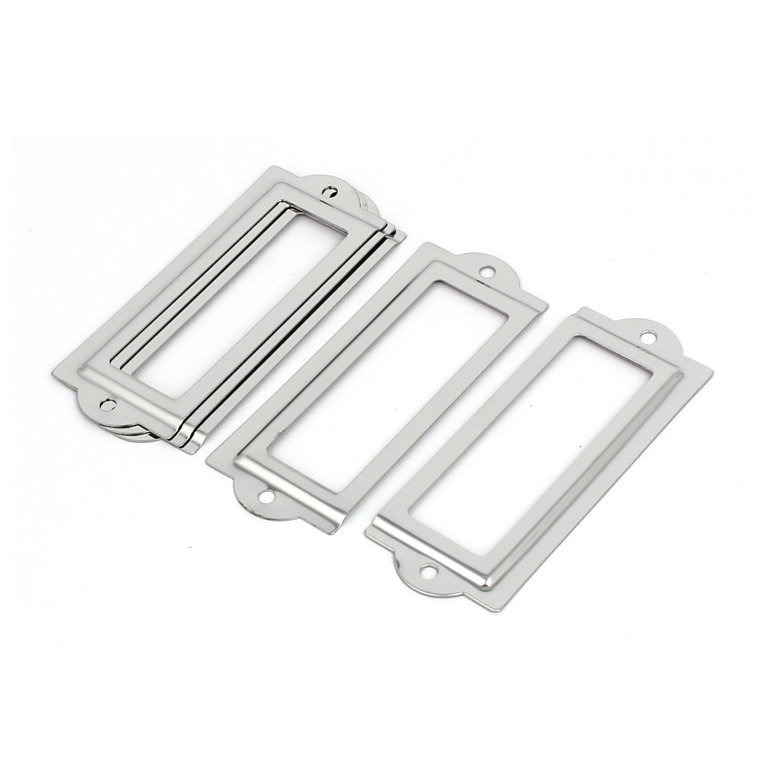 Unique BargainsOffice Pharmacy Drawer Iron Tag Holder Label Frame ...