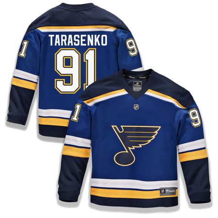 Vladimir Tarasenko St. Louis Blues Fanatics Branded Youth Replica Player Jersey - (St Louis Rams Replica Helmet)