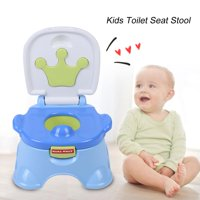 WALFRONT 3-in-1 Portable Anti-slip Kids Potty Training Toilet Seat / Step Stool / Chair for Baby Toddler, Potty Training Seat, Potty Training Seat