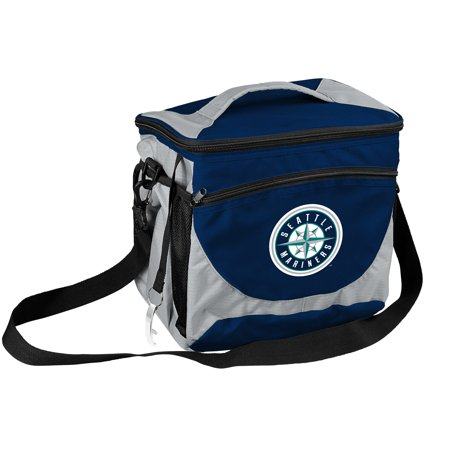 Seattle Mariners Official MLB 24 Can Cooler By Logo Chair Inc 526636