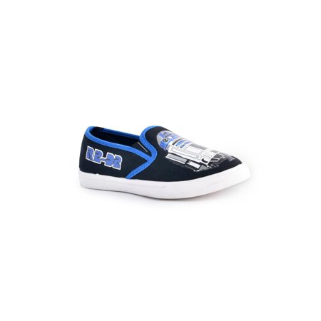 Disney Star Wars R2-D2 Boys' Slip-on Shoes (All Star Converse For Baby Boy)