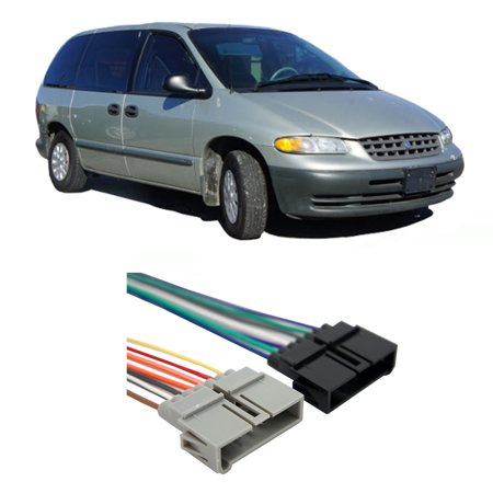 Plymouth Voyager Headlight Set (Plymouth Voyager 1984-2000 Factory Stereo to Aftermarket Radio Install Harness )