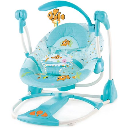 Disney Baby Finding Nemo Portable Swing Walmart Com