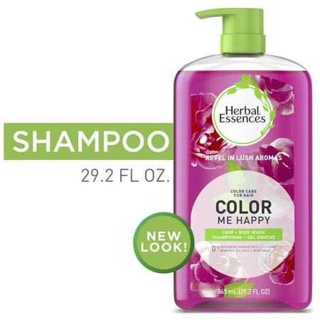 Herbal Essences Color Me Happy Shampoo & Body Wash Shampoo for Colored Hair 29.2 fl oz Clairol Herbal Essences Fruit