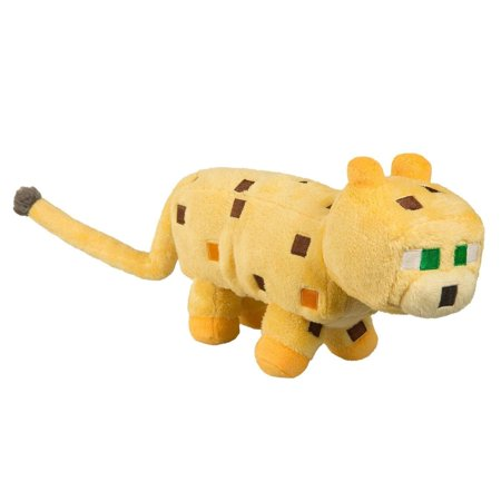Minecraft Ocelot Plush - Minecraft Ocelot