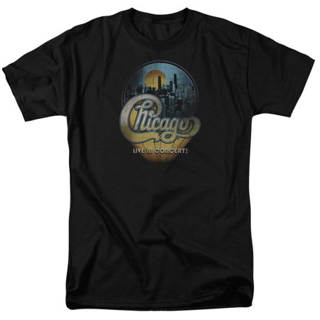 Halloween Concert Chicago (Chicago American Rock Band Live In Concert Logo Adult T-Shirt)