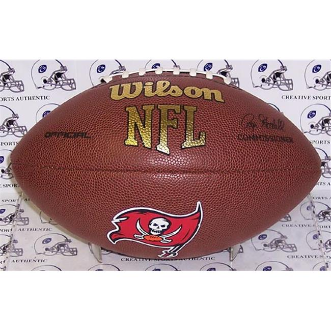 Creative Sports Enterprises WILSON-F1748-BUCS Wilson Tampa Bay Buccaneers Full Size Composite NFL Football - F1748