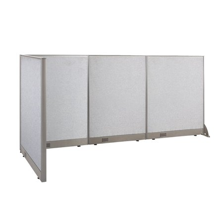 GOF L-Shaped Freestanding Office Panel Cubicle Wall Divider Partition 36D x 102W x 48H / Office, Room Divider - Office Cubicle Decoration Themes