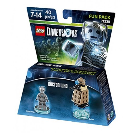 Lego Dimensions Fun Dr Who Cyberman Packuniversal edxQrBoWCE
