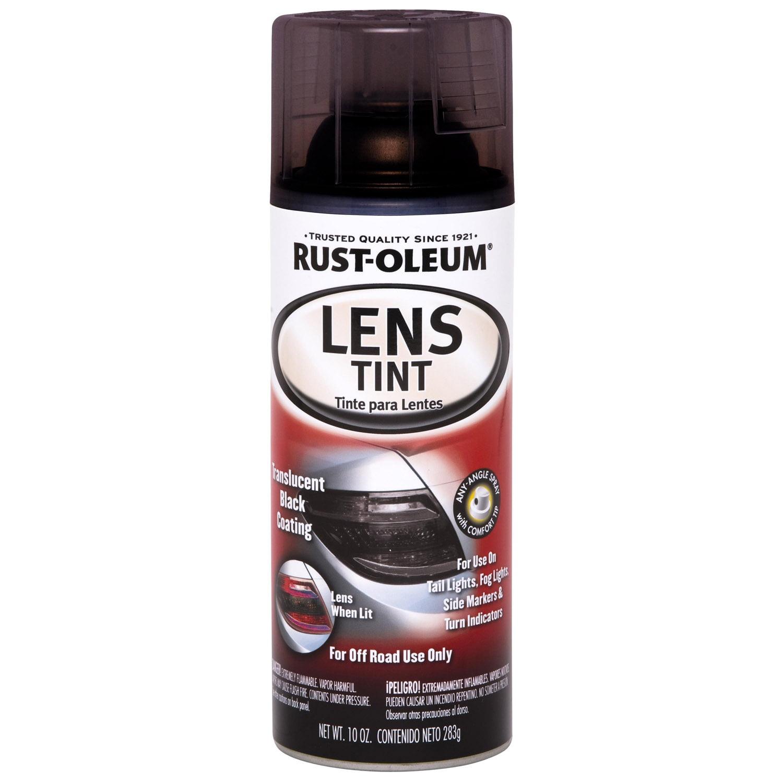 Rust-Oleum Lens Tint Spray Paint, Black