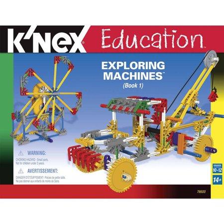 Knex Education  Exploring Machines Building Set