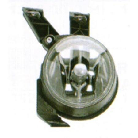 Compatible 1998 - 2000 Volkswagen Beetle Fog Light Lamp Assembly Replacement Housing / Lens / Cover - Right (Passenger) Side - (Base Model 2 Door; Hatchback; Naturally Aspirated + GL 2 Door;) (Sided Base Model)