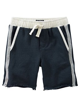 41fecb22c9 Product Image OshKosh B'gosh Little Boys' French Terry Shorts, Navy,  2-Toddler