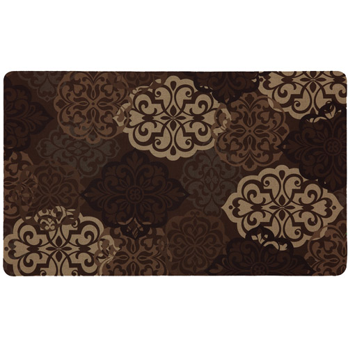"Mohawk Cucina Medallion Woven Kitchen Rug, 1'6"" X 2'6"