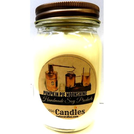 Pumpkin Pie Moonshine 16 oz Country Jar Soy Candle
