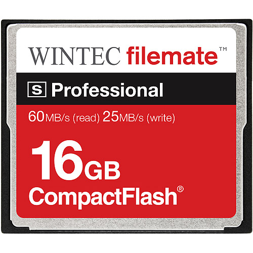 Wintec FileMate 16GB Compact S-Professional Flash Memory Card