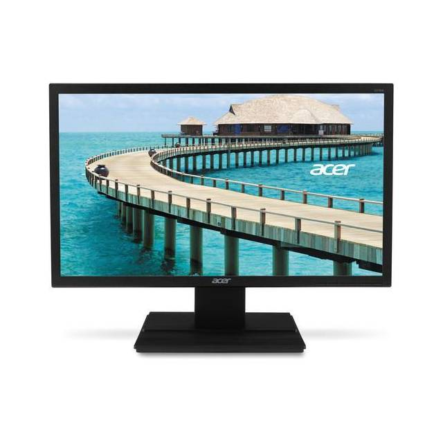 Acer V276HL bmd 27 inch Widescreen 100,000,000:1 6ms VGA/DVI LED LCD Monitor, w/ Speakers (Black) UM.HV6AA.001