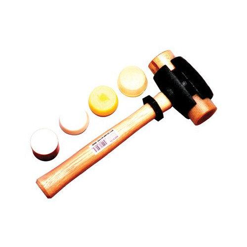 Split Head Hammers - size 1 1-1/2 lbs splithead rawhide hammer