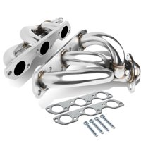For 1999 to 2004 Ford Mustang 3.8L 3.9L V6 2-PC 3-1 Shorty Stainless Steel Exhaust Header/Manifold 00 01 02 03