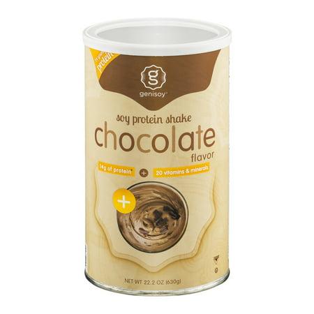 Genisoy Protéines de soja Chocolat Shake, 22,2 OZ