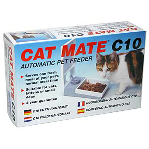 ANI MATE - Cat Mate C10 Automatic Pet Feeder - 1 Feeder