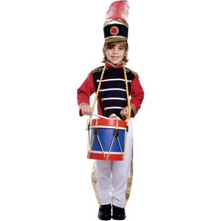 Dress Up America  Boy's 3-piece Drum Major Costume - Major Flirt Costume