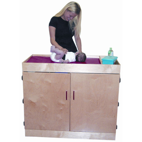 Wood Designs Deluxe Infant Care Center