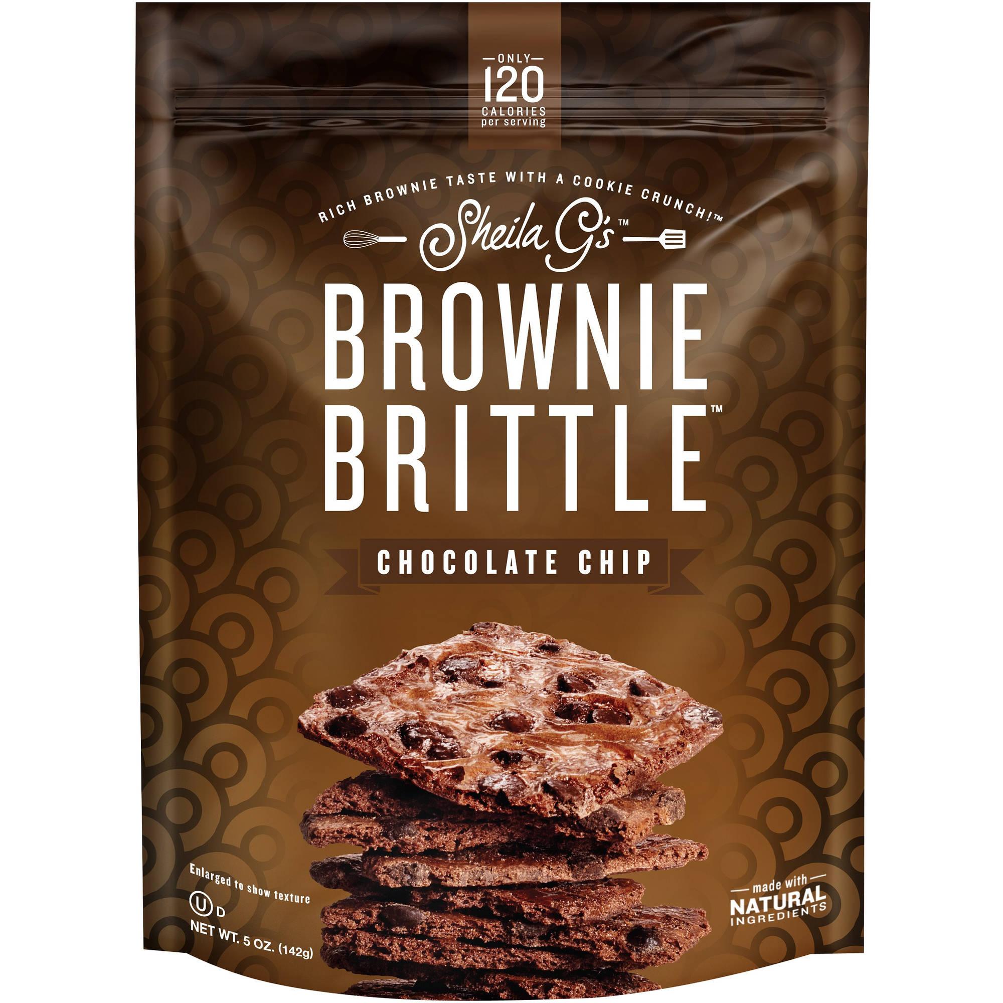 Sheila G's Chocolate Chip Brownie Brittle, 5 oz