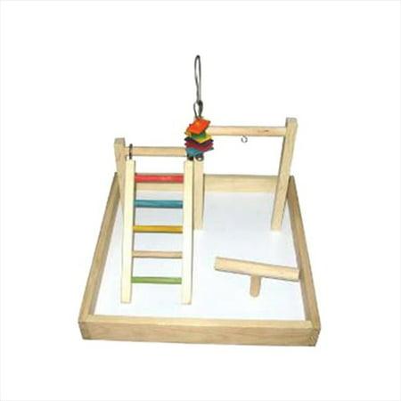 A&E Cage HB46409 Station de jeu en bois pour table - 17 x 17 x 12 po - image 1 de 1
